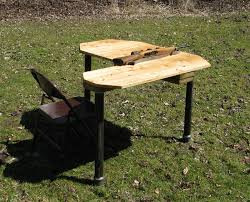 It Actually Took Me 2 Hours And 6 Beers For Me To Build This I Plans For Portable Shooting Bench
