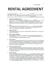 Blank Lease Agreement Printable Rental – Jumpcom.co – Template Ideas