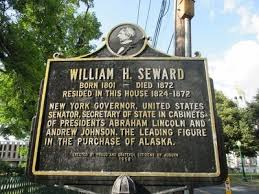 「United States Secretary of State William H. Seward.」の画像検索結果