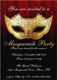 Masquerade Invitations Templates Free Fresh Masquerade Christmas Party  Invitation Tem… in 2020   Masquerade invitations, Masquerade party  invitations, Party invite template