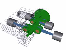 basic engine parts how car engines work howstuffworks figure 4 flat the cylinders are arranged in two banks on opposite sides of