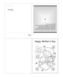 Print A Mother S Day Card Online Printable Color The Mothers Day Card With Quotes To Print And Color