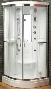 Interesting Curved Shower Enclosures Uk Aqualux Florenta Quadrant Steam Intended Inspiration