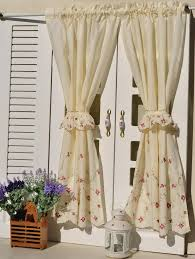 french country kitchen curtains photo 1