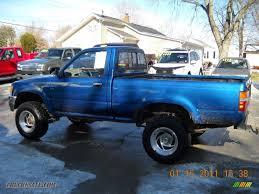 1993 Toyota Pickup Deluxe Regular Cab 4x4 in Blue Pearl Metallic ...
