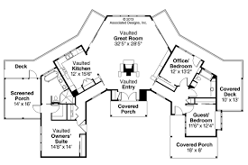 ranch style floor plans. Prairie Style House Plan - Edgewater 10-578 Floor Ranch Plans E
