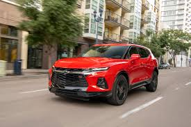 Crossover Suv Comparison Chart 2019 Chevrolet Blazer Chevy Review Ratings Specs Prices