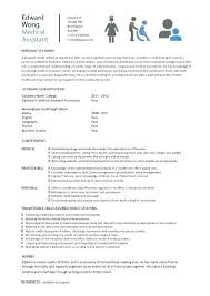 Examples Of Medical Assistant Resume Sample Resume For Entry Level