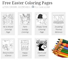 Free Easter Coloring Pages For Church