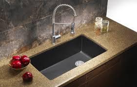 Blanco Kitchen Faucet Reviews Kitchen Black Kitchen Sink With Elegant Black Glass Kitchen Sink