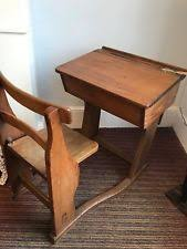 wooden school desk and chair. Vintage School Desk And Chair Wooden
