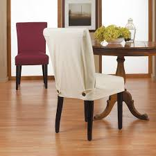 short dining room chair covers sure fit slipcovers stretch dining room chair slipcovers short