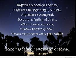 Quote About Good Night And Sweet Dreams Best of Sweet Dreams And Good Night Quote