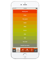 Mood Chart App Mood Tracker Apps For Anxiety Management Stress Relief