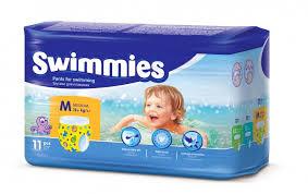 <b>Swimmies Трусики для плавания</b> Medium (12+ кг) 11 шт ...
