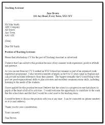 t cover letter sample teaching assistant cover letter sample no experience teacher ideas