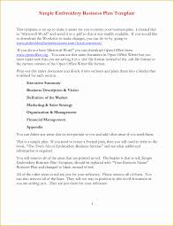 Basic Business Plan Outline Free Simple Business Plan Template Free Of 8 Best Of Simple