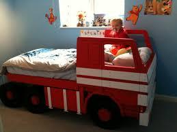 little tikes fire truck toddler bed bedding step dimensions car beds for kids bedroom furniture fireman