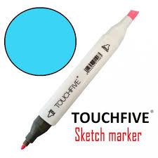 Купить Маркер <b>двусторонний</b> 66 <b>Baby Blue</b> TouchFive в Украине