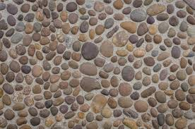what to use to clean pebble rock flooring home guides how to install river rock tile