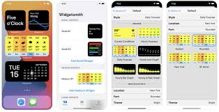 widgetsmith widgets basteln für ios 14