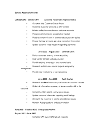 Ideas Collection Sample Resume For Accounts Receivable Accounts