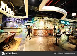 Interior View Angel Urban Fashion Restaurant Theme British