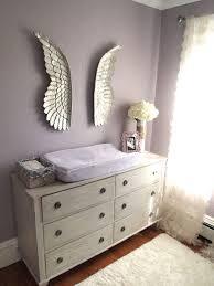 Mila\u0027s Purple/Gray Modern Glamour | Project nursery, Angel wings ...