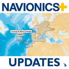 Nautical Charts Central America Navionics Updates Chart Central And West Europe 46xg Large