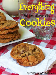 Everything But The Kitchen Sink Cookies Comfortably Domestic