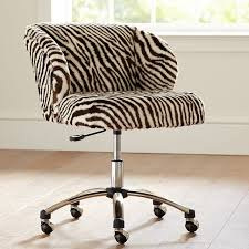 wingback office chair furniture ideas amazing. Zebra Faux Fur Wingback Chair Pbteen Office Furniture Ideas Amazing R