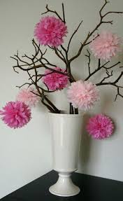 Wedding Paper Flower Centerpieces Tissue Paper Flower Centerpiece Wedding Pom Pom Flower Centerpieces