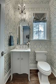 minneapolis candice olson chandelier with nickel cabinet and drawer knob sets powder room traditional wallpaper