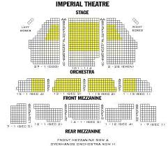 Az Broadway Theater Seating Chart 63 Scientific Seating Chart For Imperial Theater