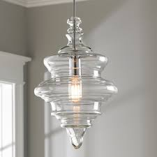 stylish glass pendant chandelier closed spool shade of light chrome uk necklace australium for kitchen island nz ceiling