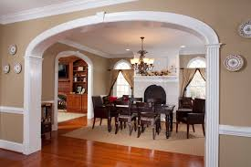 room arch design doorways and arches traditional dining room richmond by