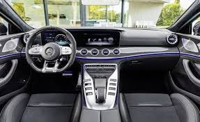Normal mercedes sedans are always a bit staid and respectable, ideal for stolid burghers, police, and taxi drivers. 2019 Mercedes Amg Gt 4 Door Coupe Pricing Announced