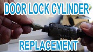e60 bmw door key lock cylinder replacement