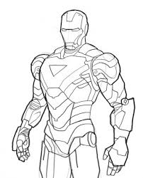 Small Picture Iron Man Coloring Page Printable Superheroes Coloring Pages