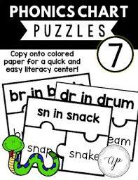 Phonics Chart 7 Puzzle A Beka Abeka
