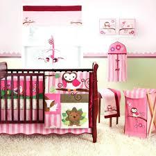 little mermaid nursery bedding monkey crib set lion king purple owl