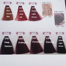 Colorly 2020 Colour Chart Colorly Hair Color Chart Sbiroregon Org