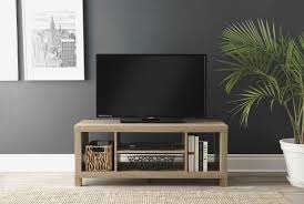 light wood tv stand