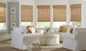 Image result for woven shades or drapes in a white room