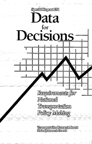 Report Contents Data For Decisions Requirements For National