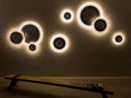 unique wall lighting. Strikingly Inpiration Wall Lighting Ideas Delightful Light Unique E