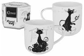 <b>Кружка</b> Carmani <b>Crazy Cats</b>. Кошка с котятами — купить по ...