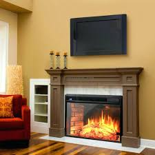 mini electric fireplace heater. Electric Fireplace Wall Mount Mahogany Mounted Heater With Remote Stanton Reviews Mini Walmart S