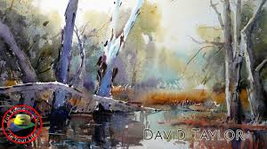 watercolour painting techniques and tutorial with david taylor i colour in your life you