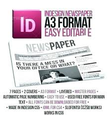 Office Newspaper Template Microsoft Office Newspaper Template Brayzen Co